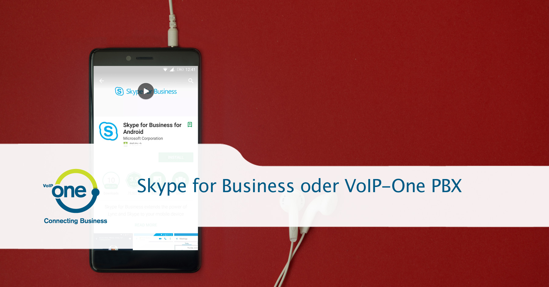 Skype for Business oder VoIP-Cube PBX