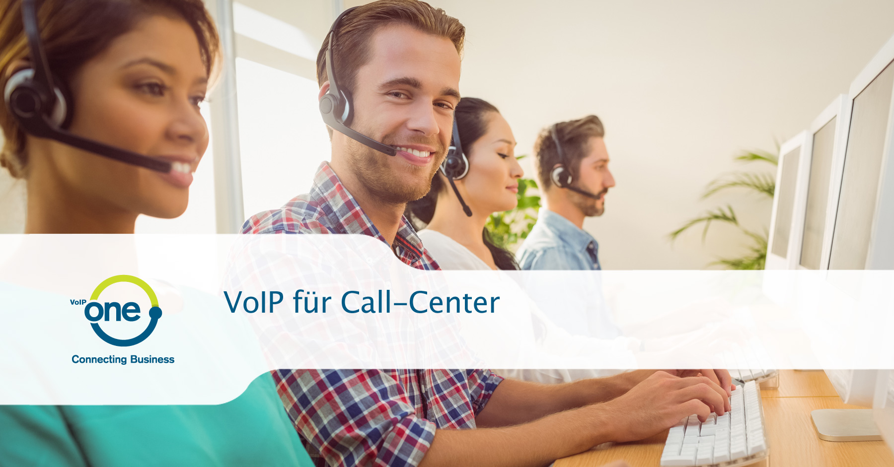 VoIP für Call-Center
