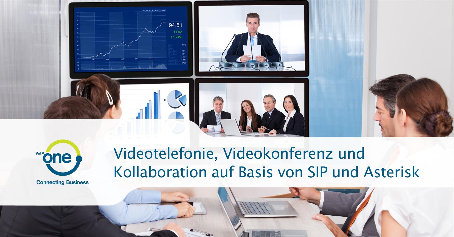 Asterisk Videotelefonie Videokonferenz SIP