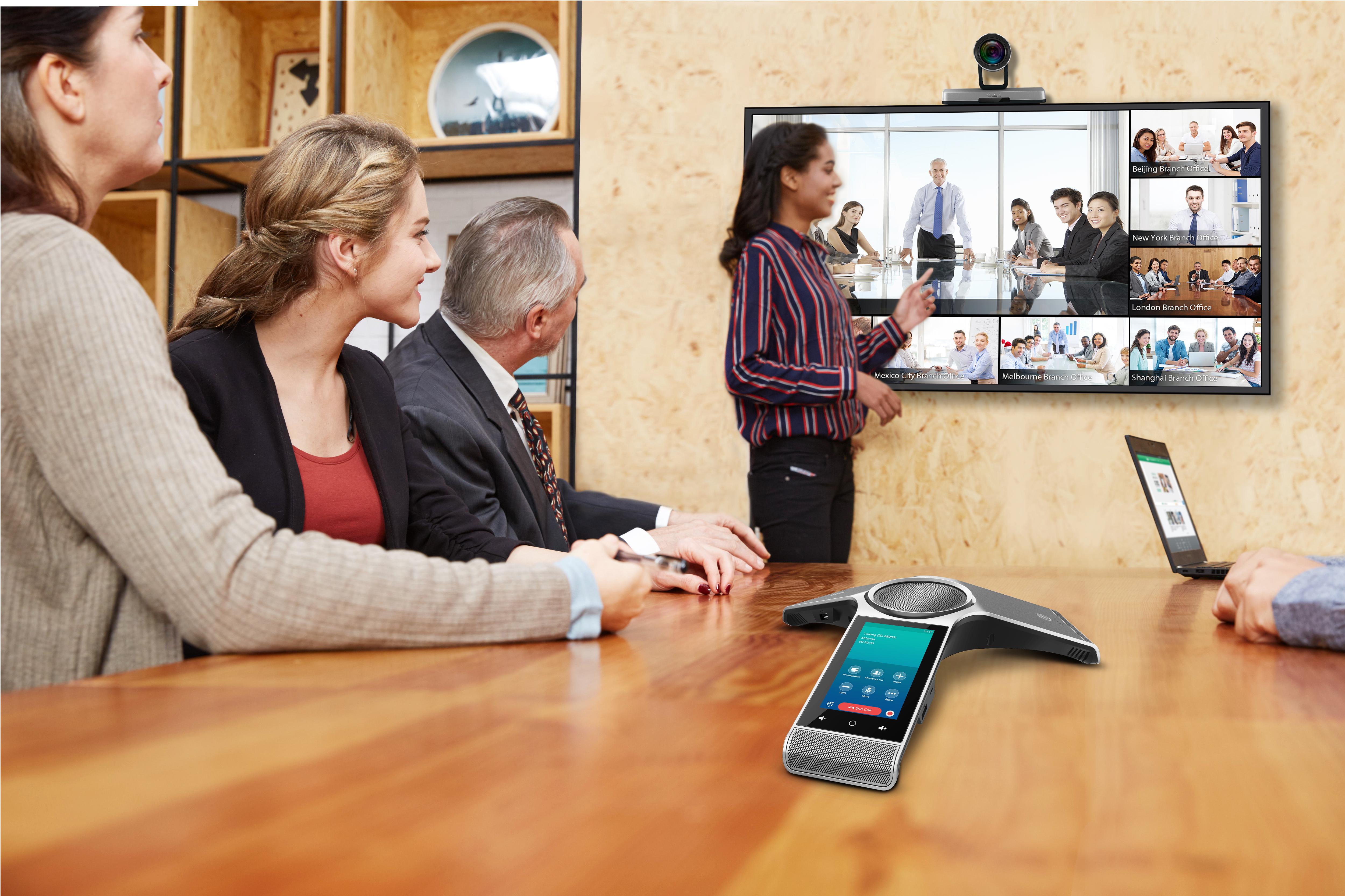 Yealink VC800 Video Conference Scenario