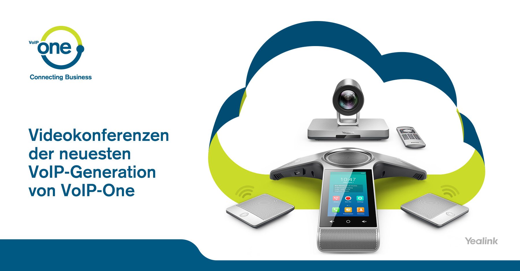 Videokonferenzen der neuesten VoIP-Generation von VoIP-One